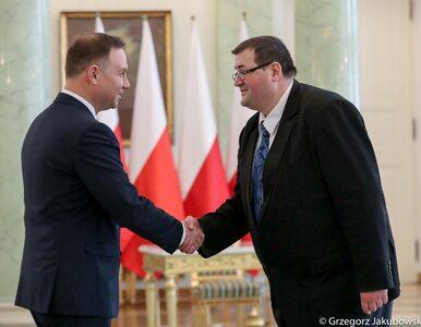 Grzegorz Jędrejek nowym sędzią TK. Złożył ślubowanie przed prezydentem