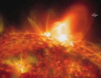 Naukowcy z NASA opublikowali zdjęcia spektakularnego rozbłysku słonecznego