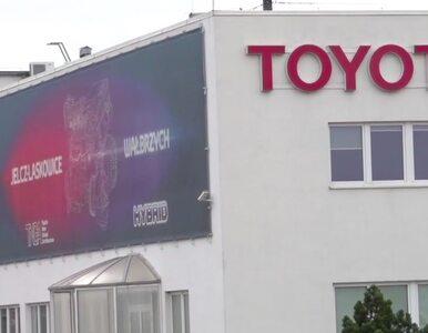 Stanęły fabryki Toyoty na Dolnym Śląsku