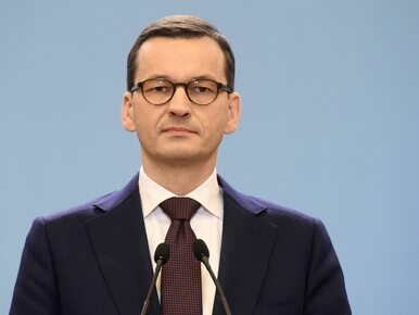 Premier Mateusz Morawiecki zaprosił opozycję na spotkanie