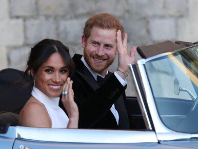 Tym jaguarem Meghan Markle i książę Harry pojechali na wesele. Kryje się...