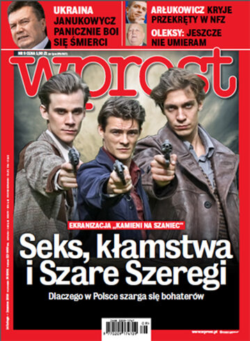 Okładka tygodnika Wprost nr 9/2014 (1617)