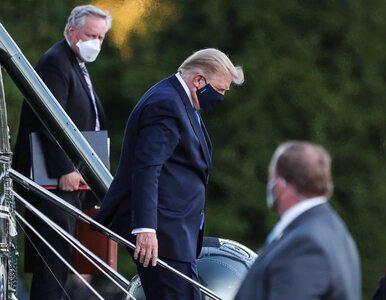 """Donald Trump wychodzi ze szpitala! """"Nie bój się COVID-19"""""""