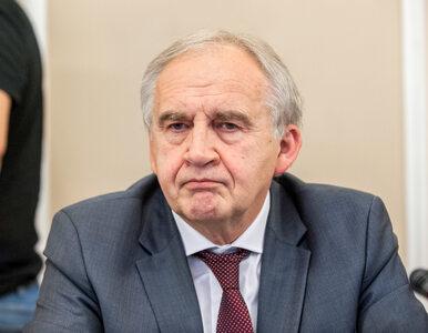 Były minister zdrowia prof. Marian Zembala trafił do szpitala