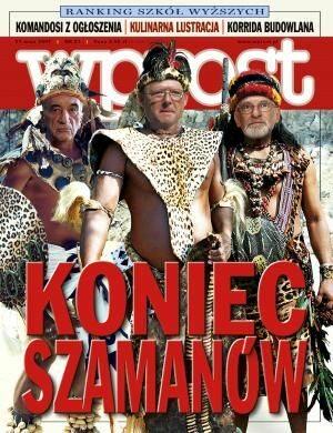 Okładka tygodnika Wprost nr 21/2007 (1274)