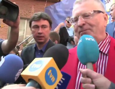 Żyrinowski: W przypadku wielkiej wojny z Polski nic nie zostanie