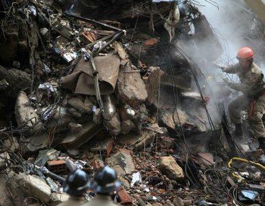 Rio de Janeiro liczy ofiary katastrofy budowlanej