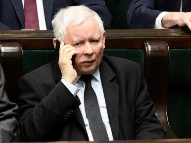 """Jarosław Kaczyński komentuje sprawę taśm. """"Szef partii ma prawo być..."""