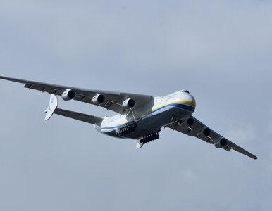 Na Okęciu dał radę, w Kopenhadze już nie. Tym razem An-225 Mrija musiał...