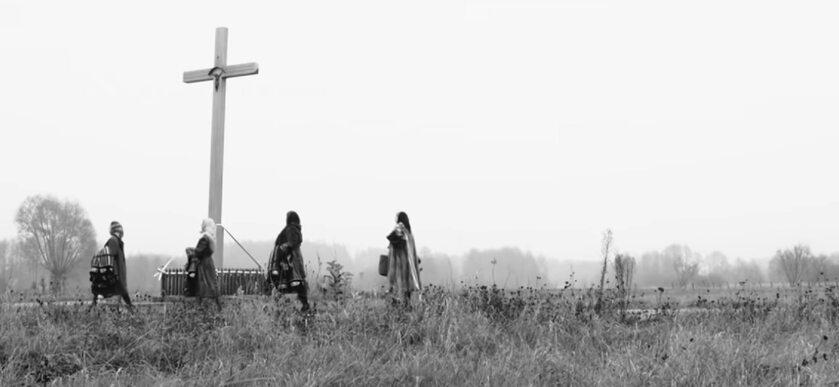 Krzyż w oryginalnym teledysku zespołu Tulia