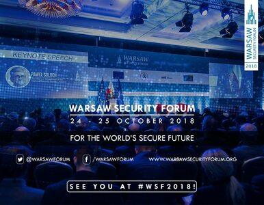"""Trwa Warsaw Security Forum. """"Rosja to strategiczne wyzwanie dla..."""