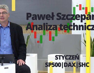 Paweł Szczepanik przedstawia: STYCZEŃ, SP500, DAX, SHC | Analiza techniczna