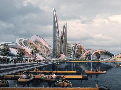 Nowa dzielnica Moskwy zaskoczy architekturą i technologią
