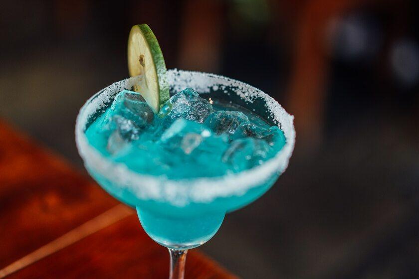 Niebieski drink