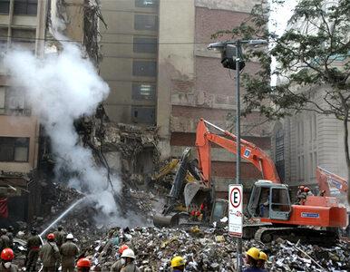 Rio: pod gruzami w centrum są już tylko ciała?