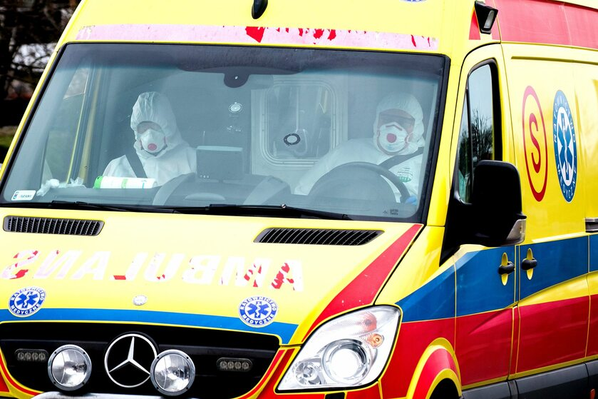 Transport chorych w Raciborzu