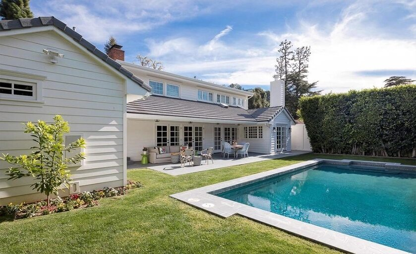 Dom w Beverly Hills w Kalifornii