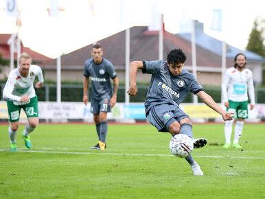 Trzy gole na wyjeździe. Legia postawiła mały krok do Ligi Mistrzów