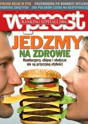 Okładka tygodnika Wprost nr 51/2004 (1151)