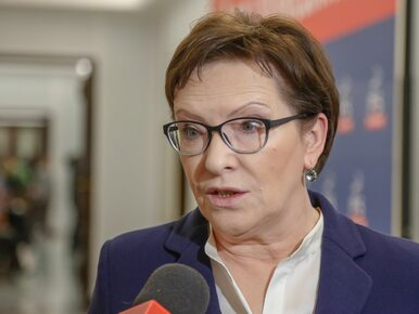 Ewa Kopacz krytykuje wystapienie Szydło: To żenujące