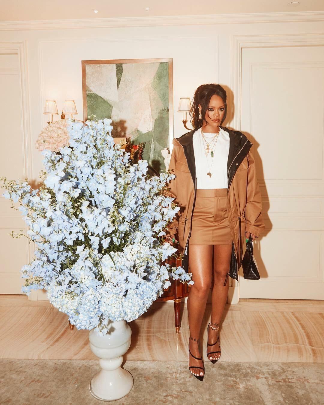 Rihanna w ubraniach ze swojej nowej marki Fenty