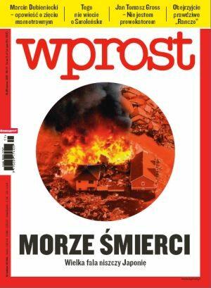 Okładka tygodnika Wprost nr 11/2011 (1466)