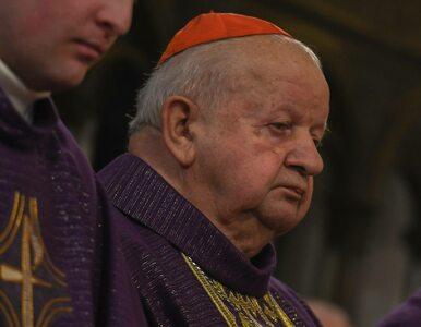 Kardynał Dziwisz: Chcą przerzucić na mnie odpowiedzialność