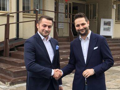 Warszawa. Guział zrezygnował z walki o prezydenturę. Poparł Patryka Jakiego
