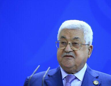Palestyna zrywa stosunki z USA i Izraelem. Prezydent Abbas nie chce...