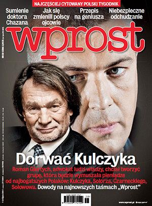 Okładka tygodnika Wprost nr 28/2014 (1636)