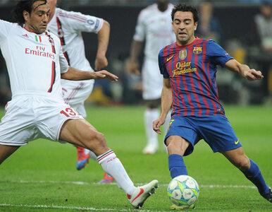Xavi nie trenował. Z Milanem też nie zagra?