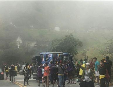 Wypadek autobusu z kibicami. Nie żyje 12 fanów Barcelona SC