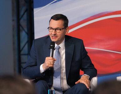 """Mateusz Morawiecki mówi o płacy minimalnej.  """"Praca Polaków jest bezcenna"""""""