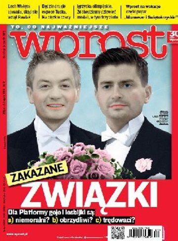 Okładka tygodnika WPROST: 31/2012