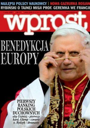 Okładka tygodnika Wprost nr 17/2005 (1169)