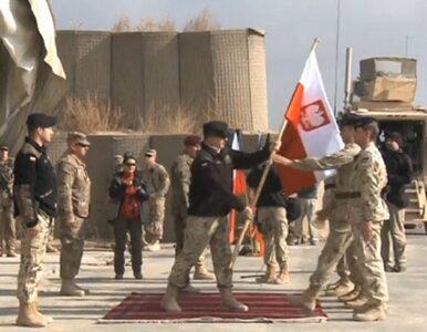 """Polscy żołnierze opuszczają Afganistan. """"Zostawiamy stabilną prowincję"""""""