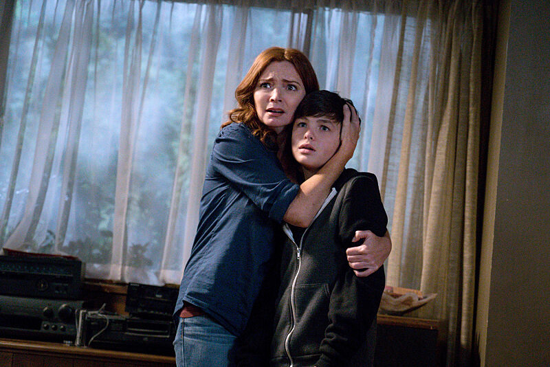 "Brigid Brannagh i Logan Williams w serialu ""Supernatural"" (2005)"