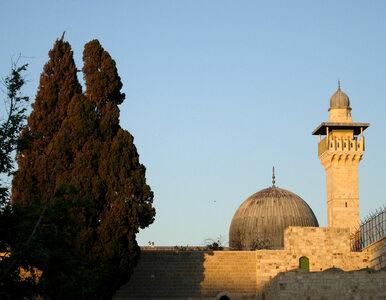 """Pożar w meczecie Al-Aksa w Jerozolimie. """"Ostrzegam przed atakowaniem..."""