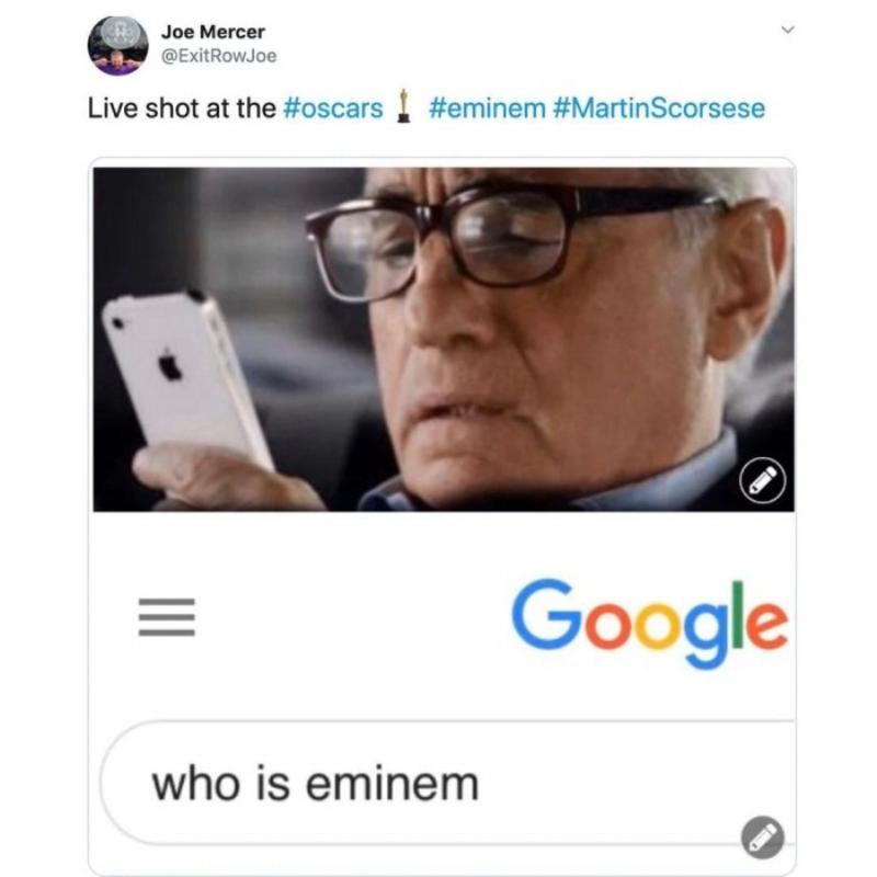Na żywo z Oscarów: Kim jest Eminem