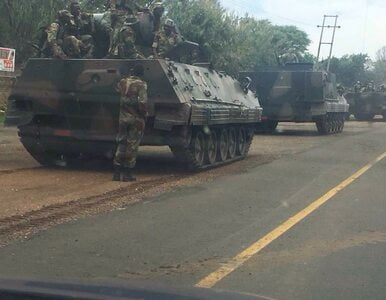 """Czołgi zmierzają w kierunku stolicy. """"Wojsko jest gotowe do podjęcia..."""