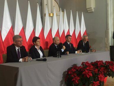 Specjalna konferencja władz PiS i kierownictwa państwa. Kaczyński...