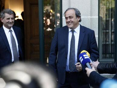 """Były prezydent UEFA Michel Platini oczyszczony z zarzutów. """"Koniec..."""