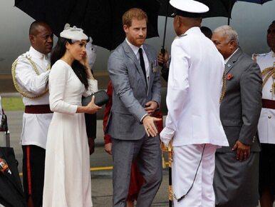 Księżna Meghan i książę Harry na Fidżi. Pałac Kensington pokazał zdjęcia