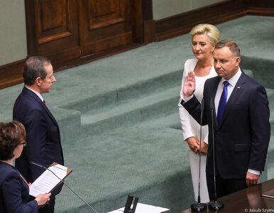 """Andrzej Duda złożył przysięgę i wygłosił przemówienie. """"Polacy mnie znają"""""""