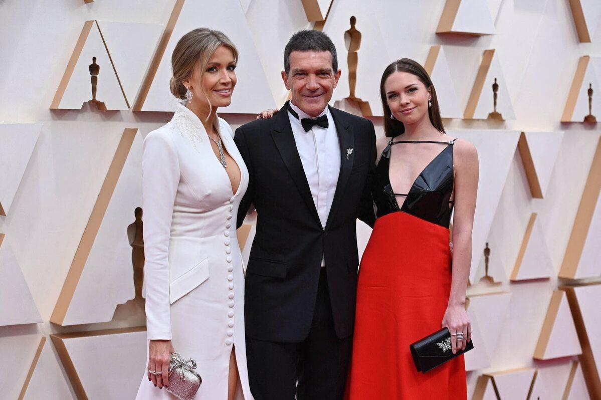 Nicole Kimpel, Antonio Banderas i jego córka, Stella Banderas