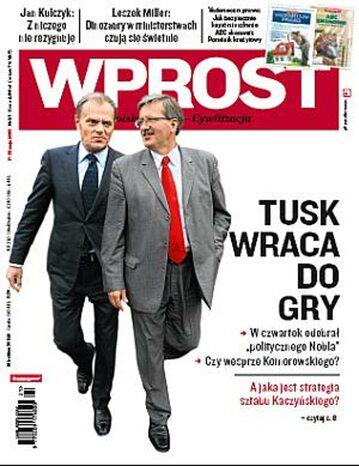 Okładka tygodnika Wprost nr 21/2010 (1424)