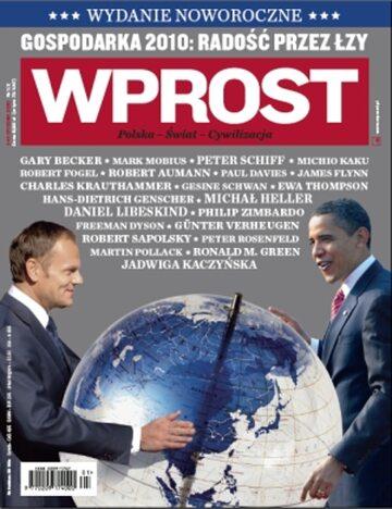 Okładka tygodnika Wprost nr 1/2/2010 (1406)