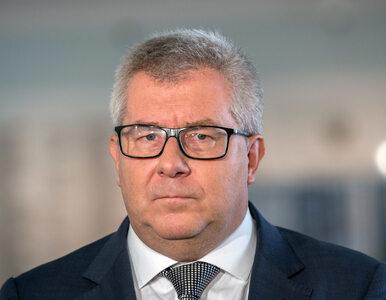 Ryszard Czarnecki walczy o utrzymanie stanowiska w PE. Rozesłał...