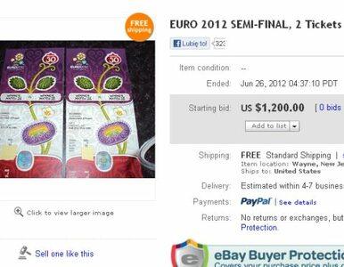 Wiemy do kogo należały bilety Euro sprzedawane w internecie