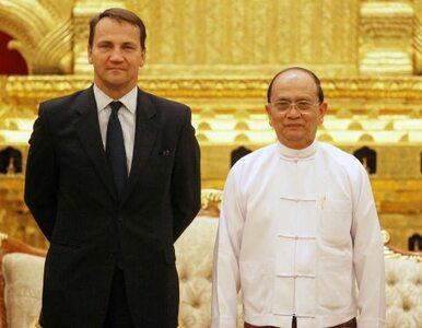 Sikorski: Birma bierze przykład z Polski